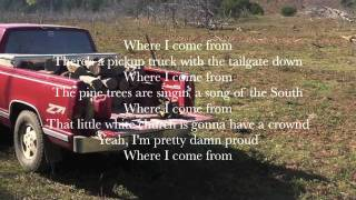 montgomery gentry- where i come from lyrics