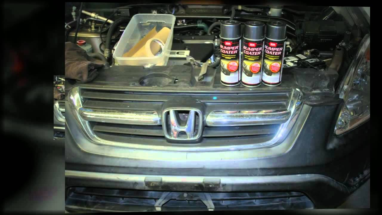how to paint plastic car parts painting plastics car bumper paint youtube. Black Bedroom Furniture Sets. Home Design Ideas