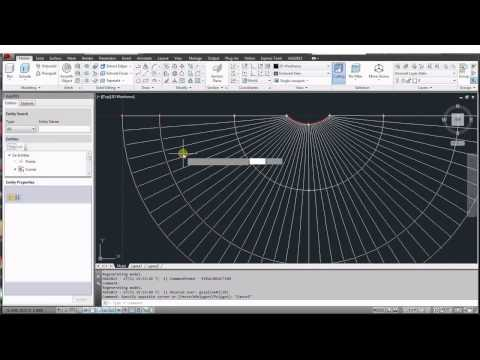 AGX for AutoCAD - Create Roof structure similar to King's Cross Station.