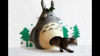 Прикольные и необычные кошачьи домики