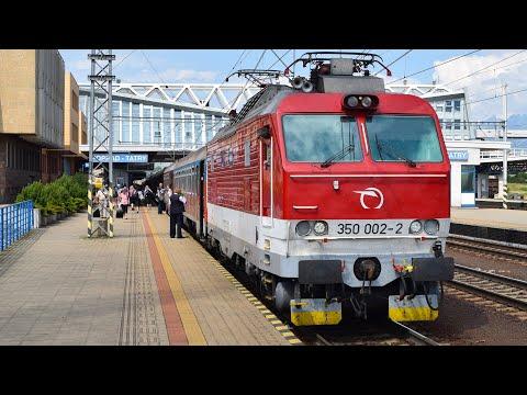 Trains - Poprad-Tatry (SK) - 31.7.2017