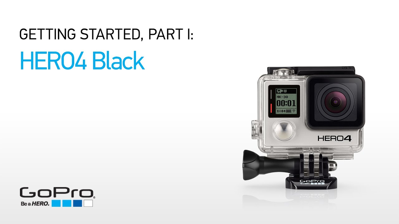 מבריק GoPro HERO4 Black: Getting Started (Part I) - YouTube KV-29
