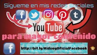 Kidsoy Oficial en RRSS | Sígueme para mayor contenido