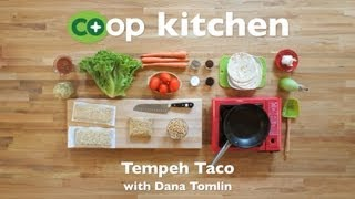 Tempeh Taco: Co+op Kitchen