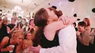 Surprise Proposal at Wedding of friends