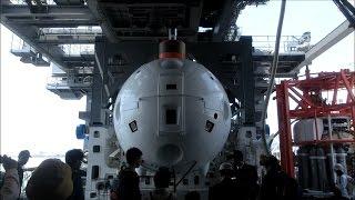 海上自衛隊 潜水艦救難母艦ちよだ 一般公開IN名古屋港