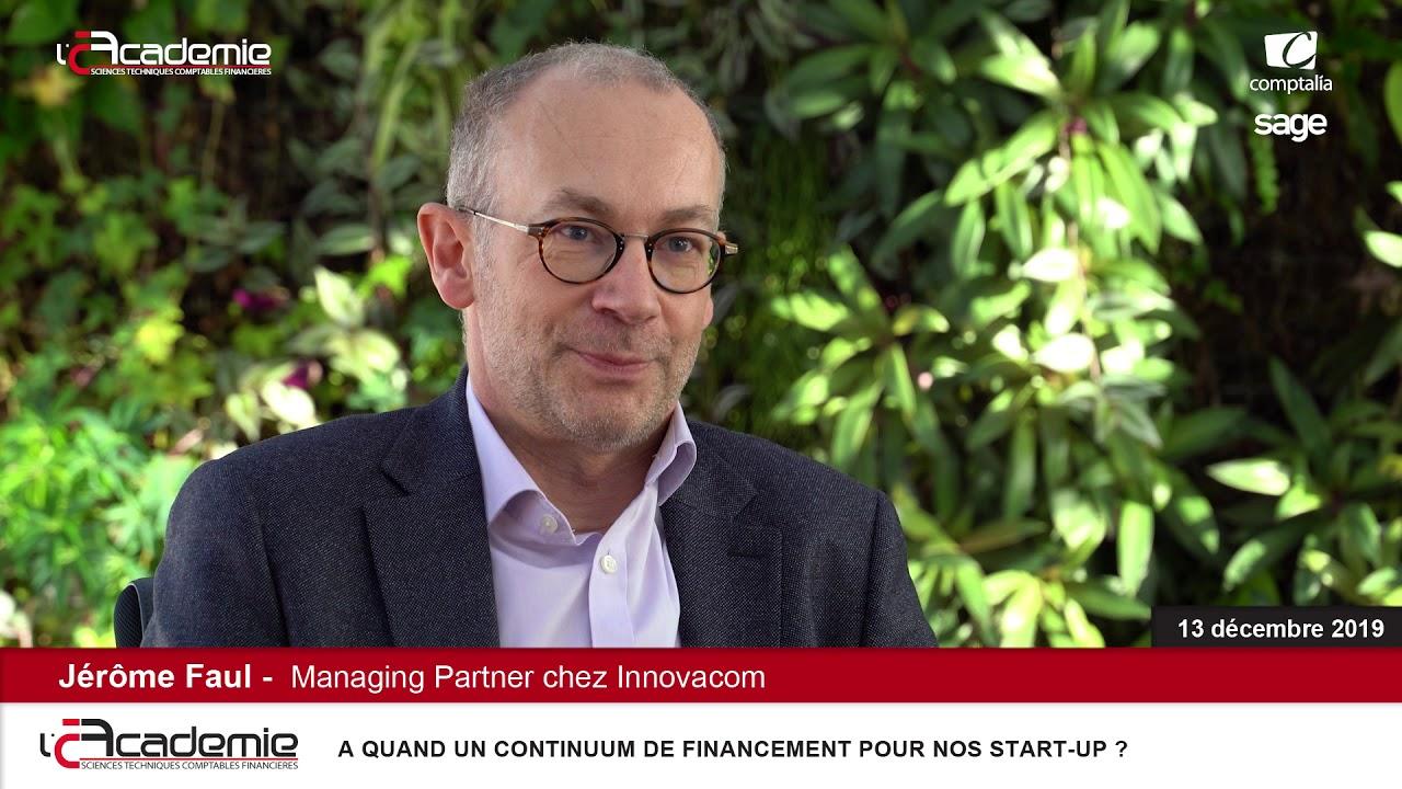 Les Entretiens de l'Académie : Jérôme Faul