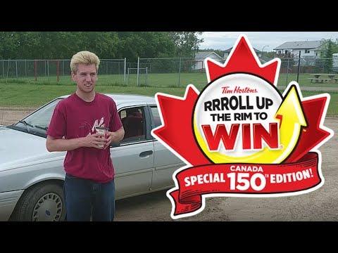 Dolynny TV Plays Tim Horton's Roll Up The Rim | Canada 150 Edition