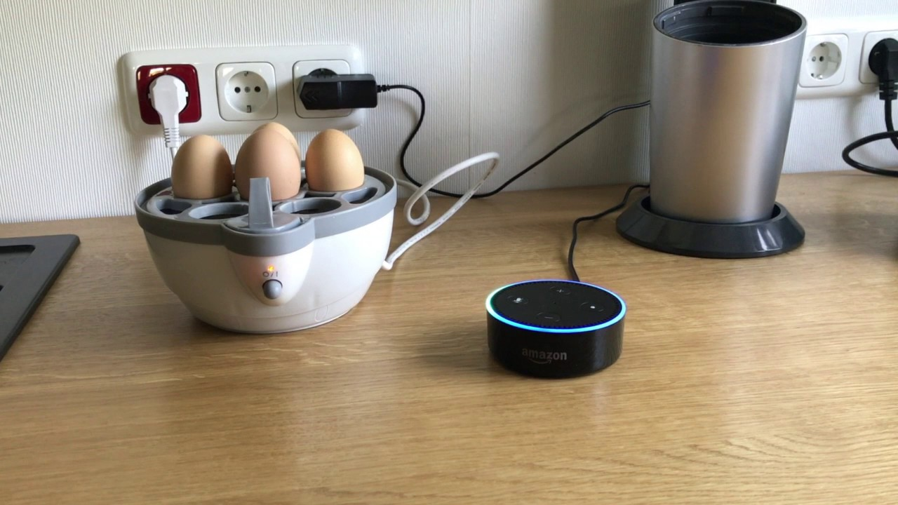 Lidl Silvercrest Eierkocher Amazon Echo Dot Eierkocher Ha4iot Alexa Home Automation