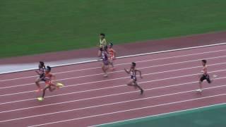 2017東部陸上カーニバル 小6男子100m 予選4組~6組