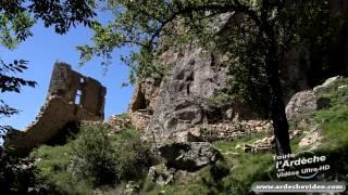 Ardèche - Château de Rochebonne (vestiges) (4K)