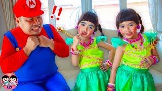 หนูยิ้มหนูแย้ม   แต่งตัวไปงานปาร์ตี้ YimYam Pretend Play Dress Up and Make Up