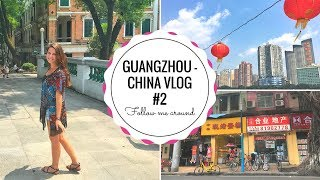 Gambar cover GUANGZHOU Vlog #2 | Mein erstes Mal in CHINA | Follow me around