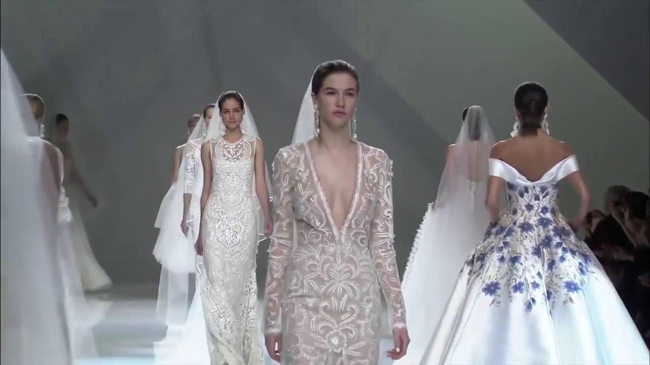 Показ свадебные платья 2017