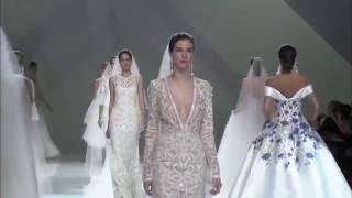Показ свадебной моды Naeem Khan 2017 на Barcelona Bridal Week