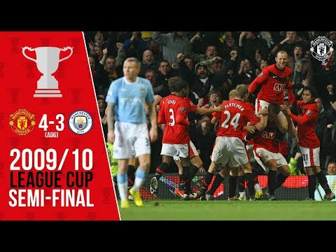 Rooney Sinks City In 2010 | League Cup Classics | Manchester United V Man City (09/10)