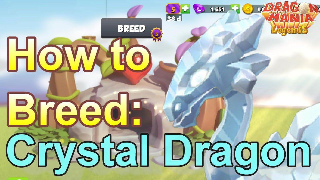How to Breed: Legendary CRYSTAL Dragon - Dragon Mania Legends