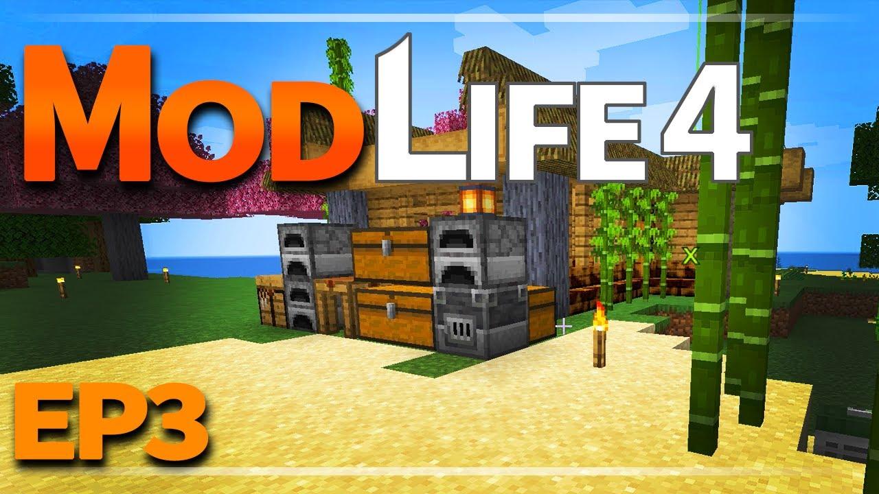 Beach House Basics | ModLife 4 [Minecraft-1.16.5]