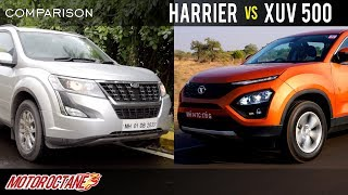 Tata Harrier vs Mahindra XUV 500 Comparison | Hindi | MotorOctane