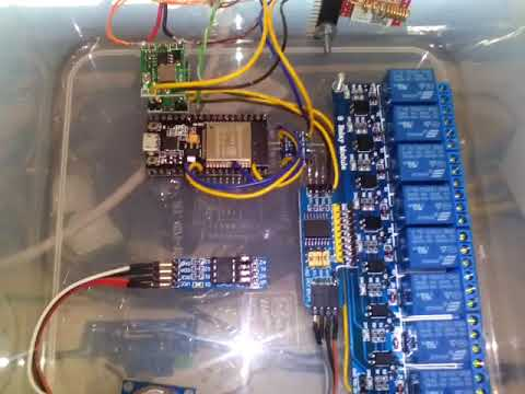 Control Remoto Reles ESP32 MQTT + SIM800L
