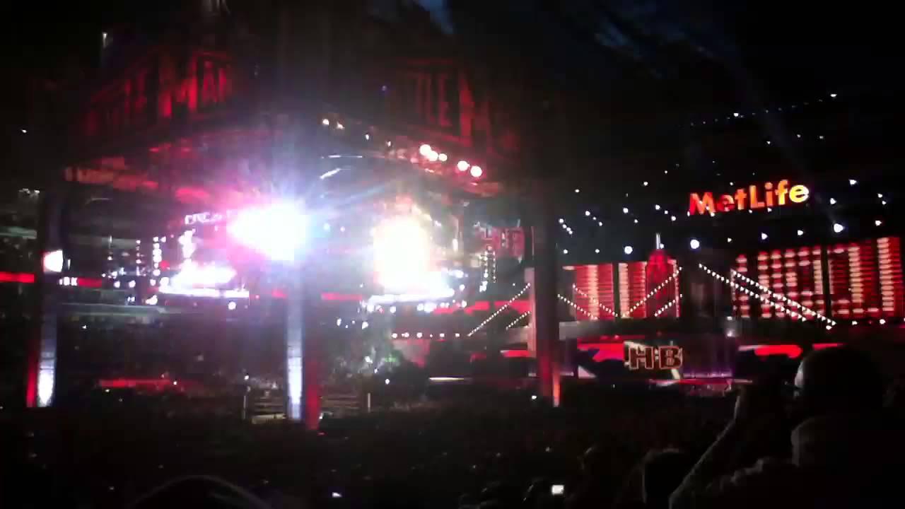 HBK and Brock Lesnar's WrestleMania 29 entrance - YouTube