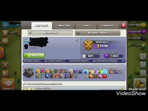 Clash of Clan Account / max. Rathaus 9 / zu verkaufen