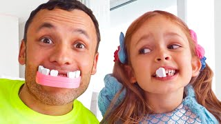 Kids Song about Tooth Fairy with Maya and Mary