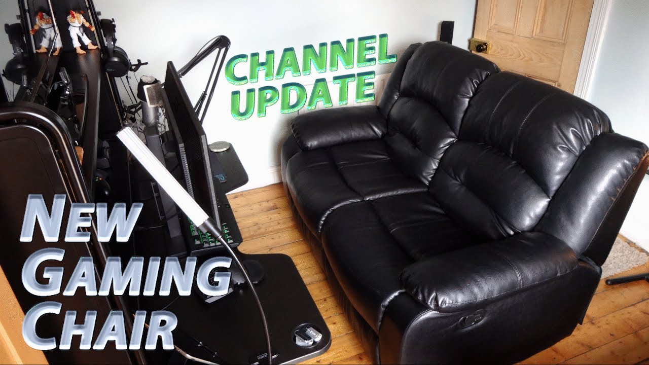 recliner gaming chair minnie mouse table and chairs editing setup overhaul hello sofa goodbye office channel update