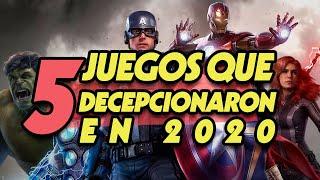 5 Videojuegos que Decepcionaron en 2020 I Fedelobo