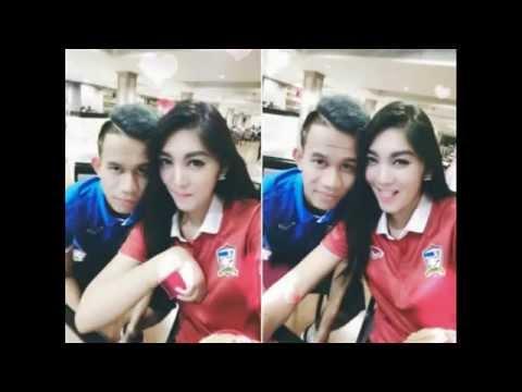 28 ภาพ แฟนสาวนักฟุตบอลทีมชาติไทย สวยๆทุกคนเลย (คลิป)