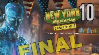 New York Mysteries 2: High Voltage CE [10] w/YourGibs - BUILD ELECTRICAL TESLA TRAP - ENDING