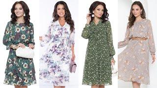 Очаровательные воздушные платья Недорогие платья из шифона