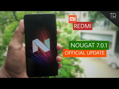 Official Nougat update in Redmi Note 4 | Android 7.0 | 🔥🔥