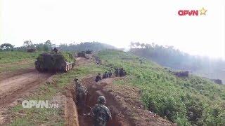 Quân khu 2 diễn tập bắn đạn thật quy mô lớn ở địa hình rừng núi