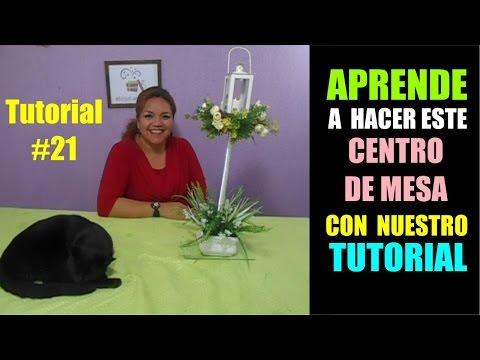 curso-tutorial-#-21-como-hacer-centro-de-mesa-arreglo-farol-vintage-vela-luz-led-boda-decoracion-etc