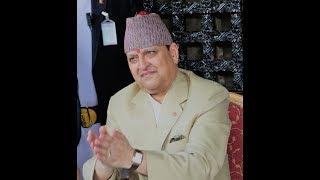पुर्व राजा ज्ञानेन्द्र नर्भिक अस्पातल भर्ना ।- ex-king gyanendra shah