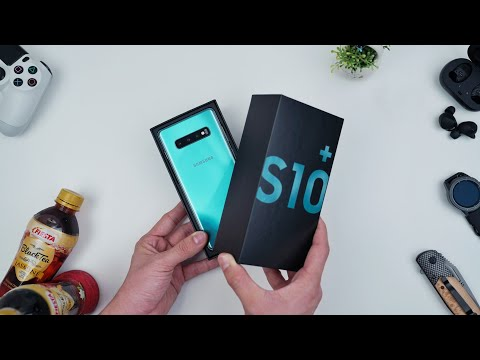 Rp13.999 JUTA! Unboxing Samsung Galaxy S10+!