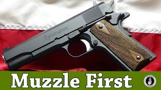 A Close Up Look At The Remington 1911 R1 - Tabletop And Range Time