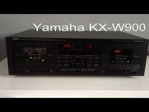 Yamaha KX-W900 Twin cassette deck
