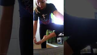 gymnastics small routine