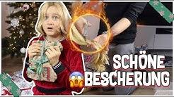 HAARE AB - SCHÖNE BESCHERUNG AN HEILIG ABEND ! MAVIELENDER 25  MaVie Noelle Family Vlogmas