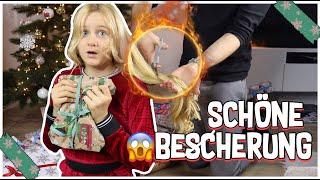 HAARE AB - SCHÖNE BESCHERUNG AN HEILIG ABEND ! MAVIELENDER 25| MaVie Noelle Family Vlogmas
