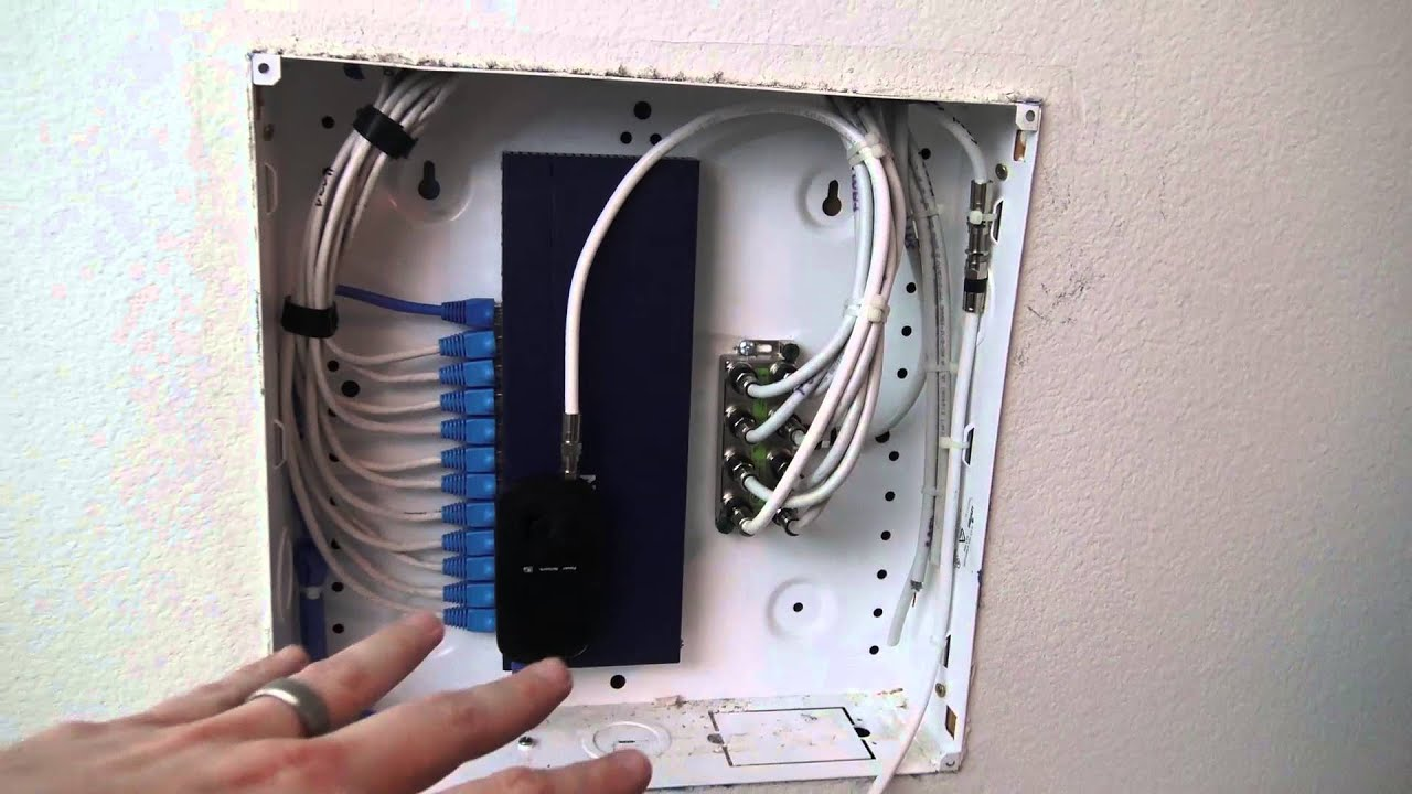 Home Network Wiring Panel Solutions