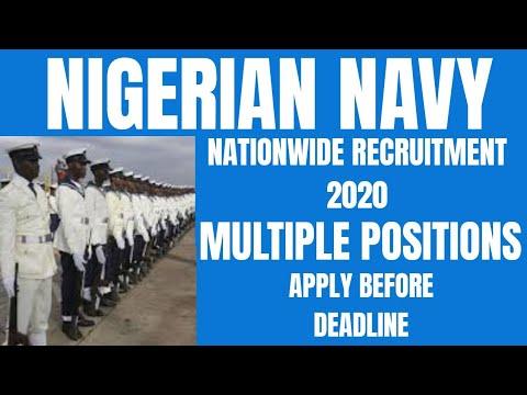 Download Nigerian Navy Recruitment 2020   Nigerian Jobs