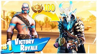 "Fortnite's NEW Tier 100 Skin - ""Ragnarok"" Gameplay! (Fortnite Season 5 Top Tier Skin)"