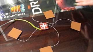 Catcatcat electronics - емкостной сенсор(размеры сенсоров выбраны большими специально для демонстрации возможности программы подстроиться от..., 2014-01-20T10:50:22.000Z)