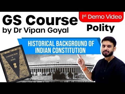 GS Course By Dr Vipan Goyal I Polity I Demo Video 1 I Study IQ #GovtExams