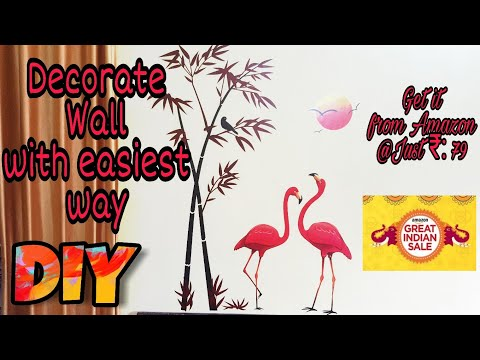Room Decoration | Wall decoration  Ideas | Wall decoration stickers | amazon wall stickers | DIY