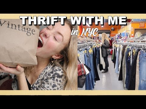 THRIFT WITH ME IN NYC