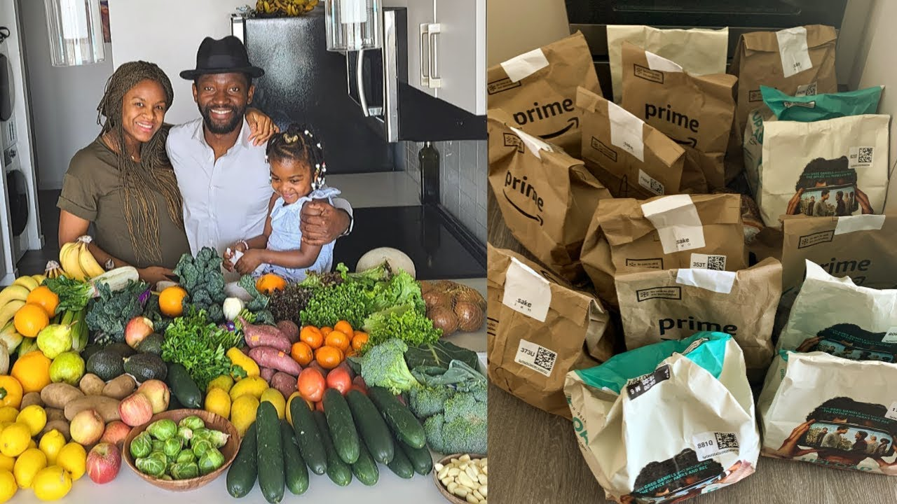 How We Grocery Shop during Coronavirus | Our Weekly Vegan Food Haul